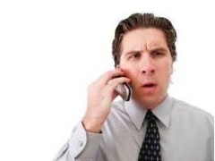 Šesť príkladov ako NE-telefonovať.